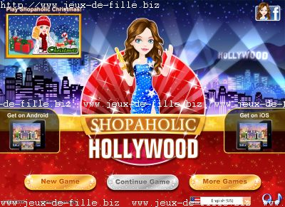 Jeu de shopping : shopping à Hollywood