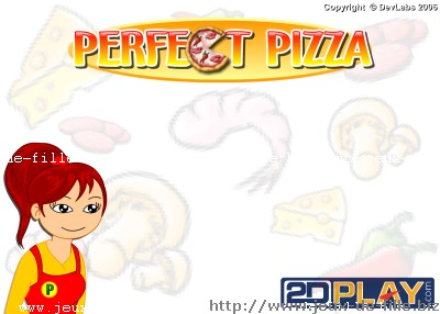 Jeux de fastfood : Jeu de creation de pizza