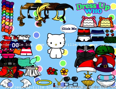 hello kitty : habillage de hello kitty