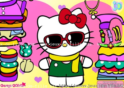 hello kitty : Les bijoux d'hello kitty