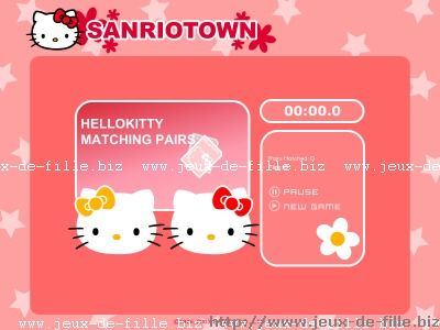 hello kitty : hello kitty joue aux cartes