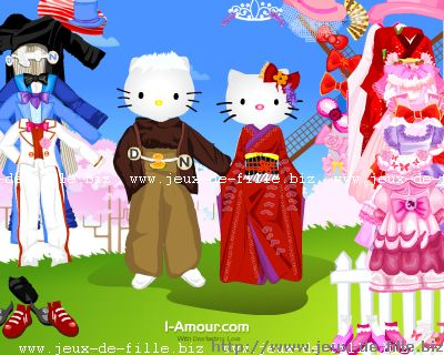 hello kitty : Hello Kitty et son amoureux