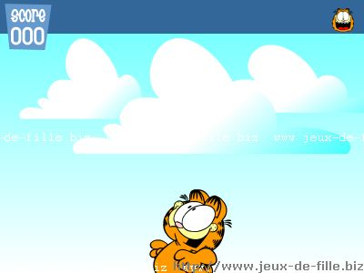 Jeux de chat : Garfield le glouton
